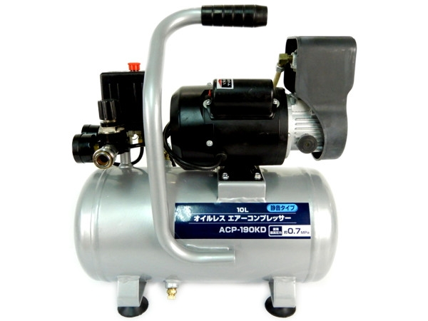 D2オリジナル ACP-190KD 静音 ミニ オイル レス コンプレッサー 機器