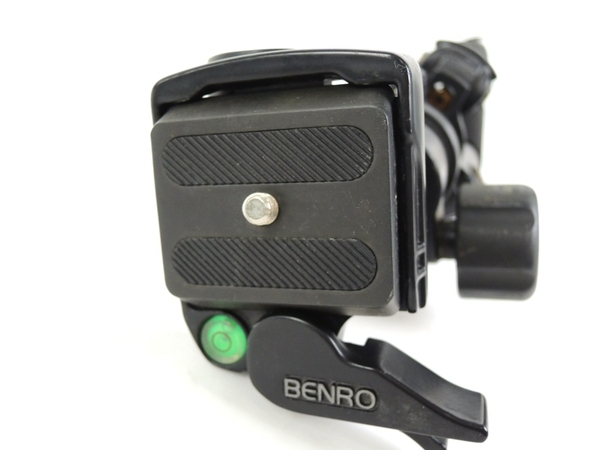 BENRO A300FHD18 アルミイージーレバーロック 3段三脚 雲台セット