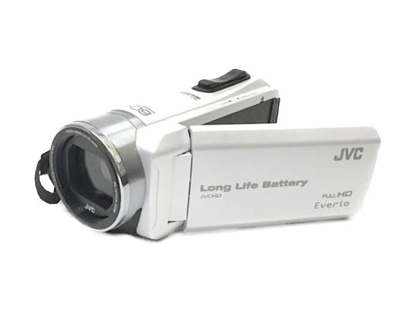 JVC Everio エブリオ GZ-F200 ビデオ カメラ パールホワイト