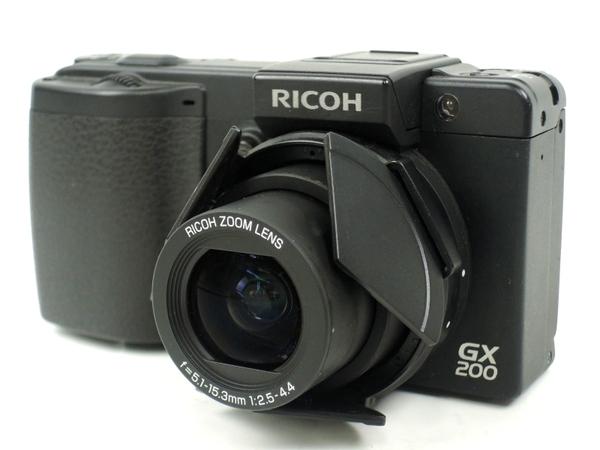 RICOH リコーイメージング GX200 デジタルカメラ コンデジ ブラック