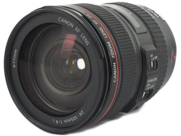Canon キヤノン  レンズ EF24-105mm F4L IS USM カメラ 標準ズーム EF24-10540LIS