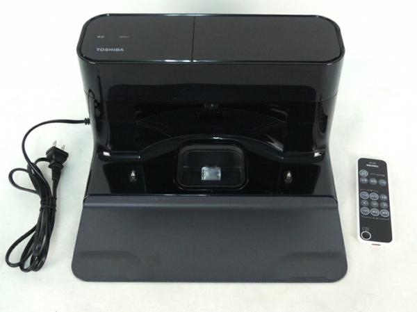 TOSHIBA 東芝 TORNEO ROBO VC-RVD1 ロボットクリーナー 掃除機 メタリックグレイ