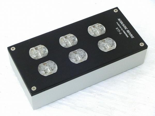 アコリバ Acoustic Revive RTP-6 電源タップ 6口 音響