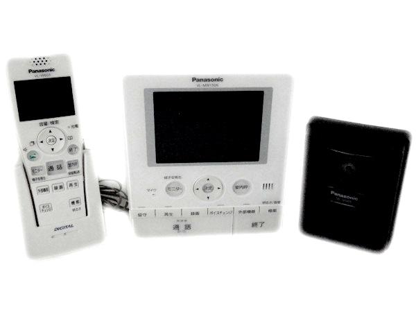 Panasonic パナソニック どこでもドアホン VL-SW150K コードレス モニター 子機付 ドアホン