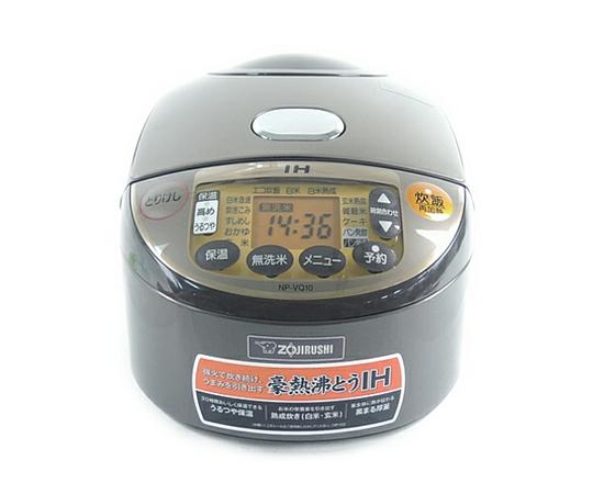 ZOJIRUSHI 象印 極め炊き NP-VQ10 IH 炊飯器 5.5合 ブラウン