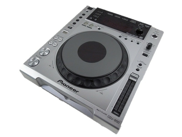 PIONEER パイオニア CDJ-850 CDJ ターンテーブル DJ機器 シルバー
