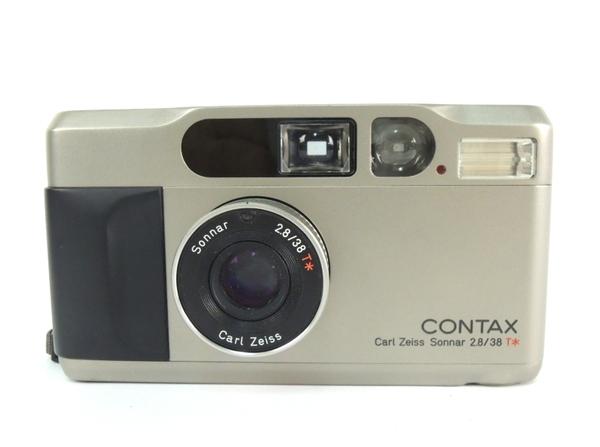 京セラ CONTAX T2 コンパクト フィルムカメラ チタンシルバー