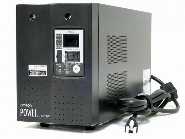 OMRON UPS BU100SW 無停電電源装置 常時インバータ方式 コンパクトモデル オムロン