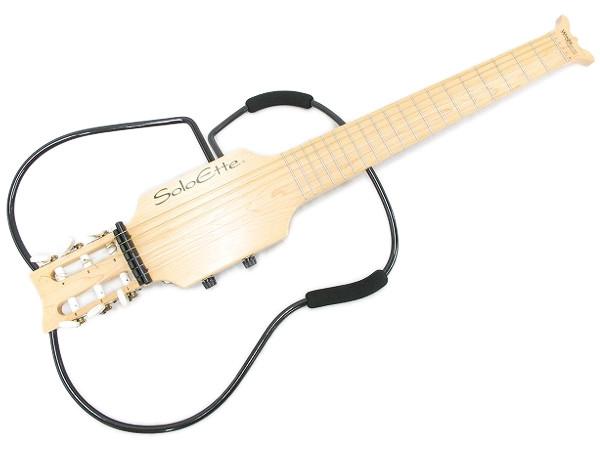 Aria Solo Ette Maple サイレント トラベル ギター