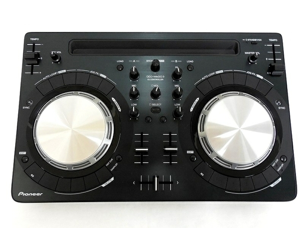Pioneer パイオニア DDJ-WEGO3-K PCDJコントローラー DJ機器