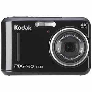 [SDカード付] コダック デジタルカメラ Kodak PIXPRO FZ43BK ブラック [8GB]