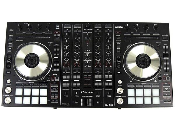 Pioneer パイオニア PERFORMANCE DJ CONTROLLER DDJ-SX2 DJコントローラー ブラック