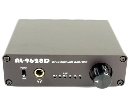 DAC AL-9628D ヘッドフォンアンプ ハイレゾ音源対応