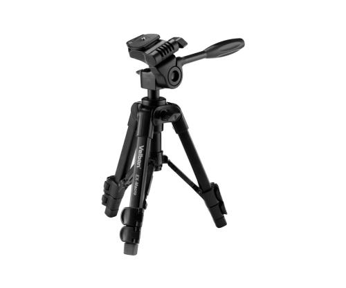 Velbon ベルボン 卓上三脚 EX-Macro 3段 レバーロック 脚径17mm 小型 3Way 雲台 クイックシュー対応 アルミ脚 [単体では注文できません]