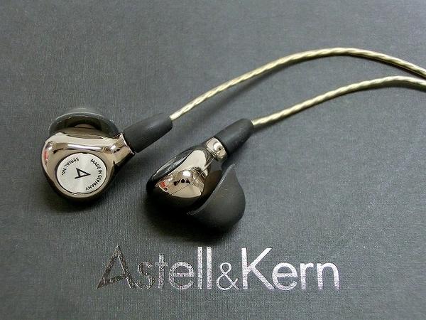Astell&Kern テスラドライバー搭載 イヤホン AK T8iE MkII AK-T8IE-MKII-BLK