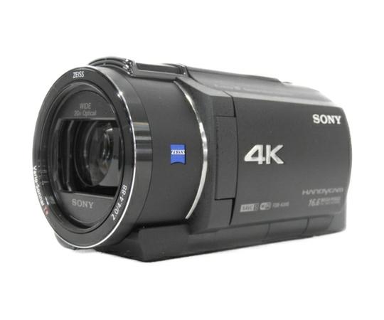 SONY ソニー 4K ビデオカメラ ハンディカム FDR-AX40 ブラック デジタル レコーダー