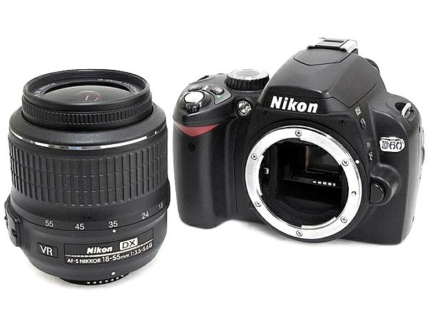 Nikon ニコン D60 18-55 レンズキット デジタル 一眼レフ カメラ