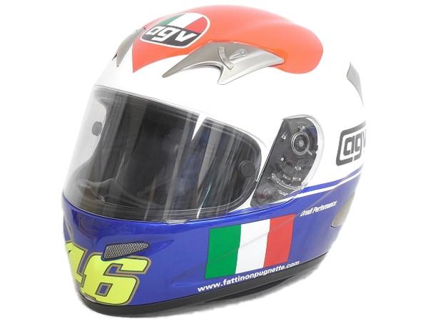 AGV ヘルメット バレンティーノ・ロッシ K-3 HEART 2007 イタリアGP ムジェロサーキット Rossi