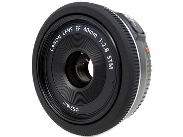 Canon キヤノン EF 40mm F2.8 STM EF4028STM カメラレンズ 単焦点 パンケーキ