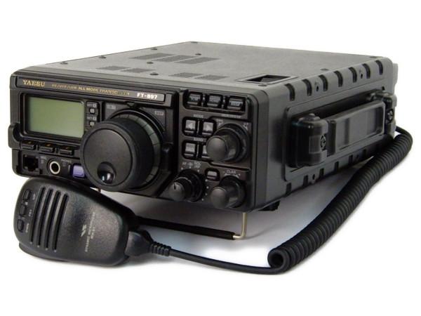 ヤエス YAESU FT-897M アマチュア 無線機 オールモード トランシーバー HF VHF UHF マイク 付属