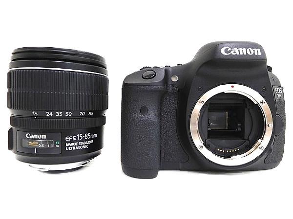 Canon キヤノン EOS 7D EF-S 15-85 mm IS レンズキット カメラ 一眼レフ