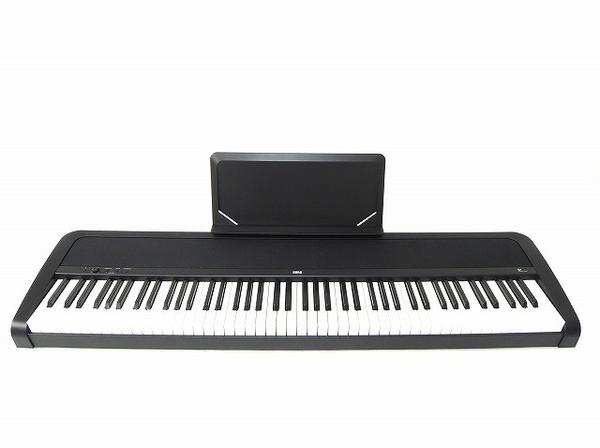 KORG コルグ B1 電子ピアノ 88鍵 ペダル付 ハンマー鍵盤 ブラック