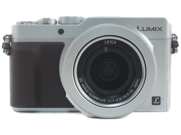 Panasonic パナソニック デジタルカメラ DMC-LX100 シルバー 4K動画 デジカメ コンデジ