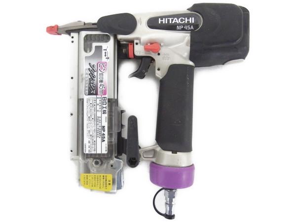 HITACHI ピン 釘打機 NP45A 電動工具