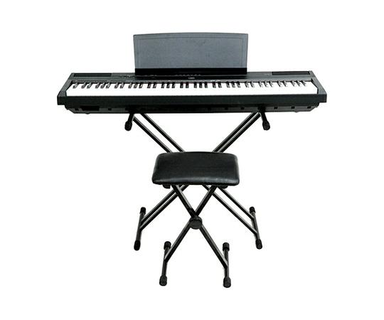 YAMAHA ヤマハ P-45B 電子ピアノ 88鍵 スタンド 椅子付き 楽器