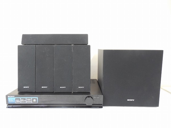 SONY ソニー HT-SS380 5.1ch シアターシステム ブラック