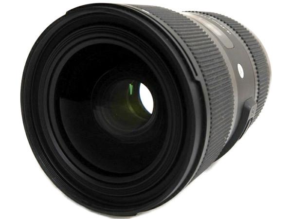 SIGMA シグマ 18-35mm F1.8 DC HSM ART Canon キヤノン用 カメラレンズ 標準ズーム 大口径 ブラック