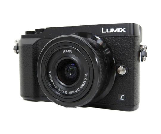 Panasonic パナソニック ミラーレス一眼 LUMIX DMC-GX7 MK2K 標準ズーム レンズキット ブラック カメラ