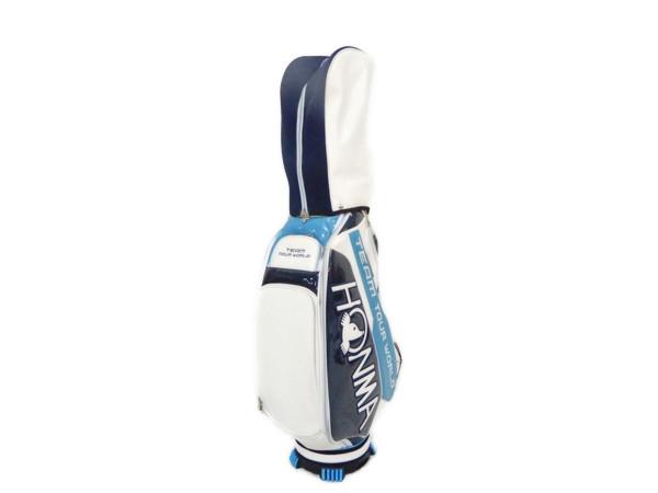 本間ゴルフ CB-1601 キャディーバック ゴルフ 9.5型 エナメル