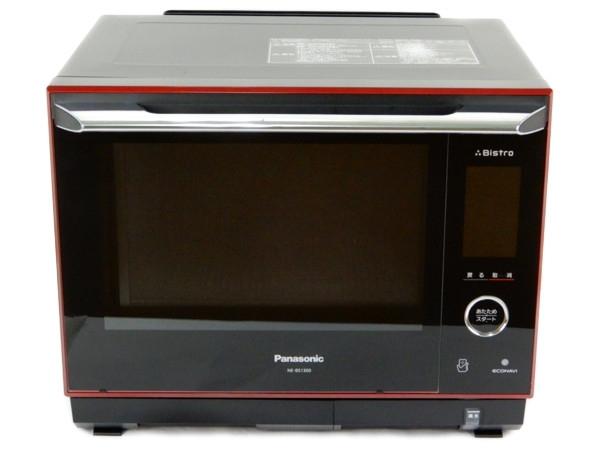 Panasonic パナソニック スチームオーブンレンジ 3つ星 ビストロ NE-BS1300  ルージュブラック 生活 家電 調理