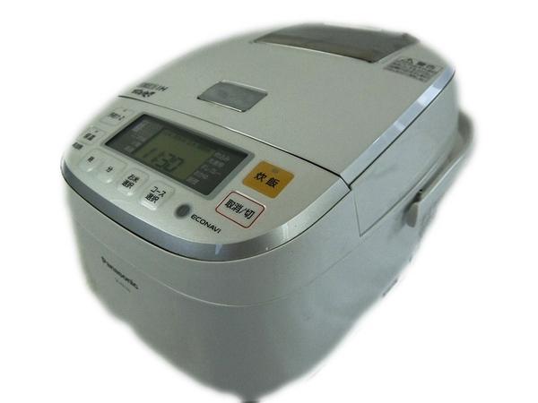 パナソニック IH ジャー 炊飯器 SR-PB105-W 5.5合 白 ホワイト 可変圧力 おどり炊き