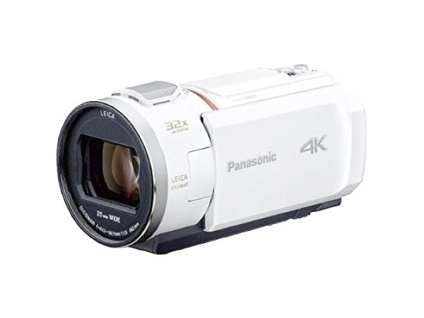 Panasonic パナソニック ビデオカメラ HC-VZX992M ホワイト 内蔵64GB 4K 広角30.8mm 光学20倍ズーム