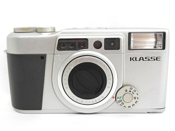 FUJIFILM 富士フィルム KLASSE フィルム コンパクトカメラ シルバー