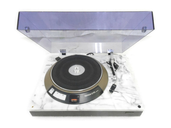 DENON DP-3750 天然大理石 レコードプレーヤー オーディオ機器  直