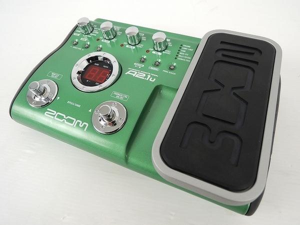 ZOOM A2.1u アコギ ギター用 マルチ エフェクター ペダル