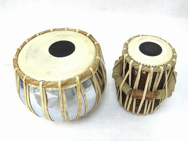 BIBA タブラ インド 太鼓 ソフトケース付き 打楽器 民族楽器