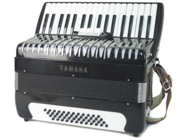 YAMAHA ヤマハ YA-48 34鍵 アコーディオン ケース付 鍵盤楽器 独奏用