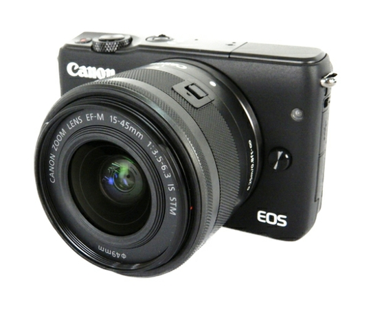 Canon キヤノン ミラーレス一眼 EOS M10 レンズキット ブラック デジタル カメラ EOSM10BK-1545ISSTMLK