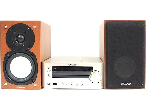 JVCケンウッド Compact Hi-Fi System K-505-N CD Bluetooth ゴールド