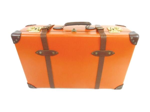 グローブトロッター センテナリートロリー 2輪ケース28 オレンジ/タン トランク スーツケース