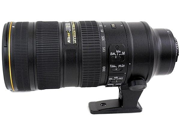 Nikon ニコン AF-S NIKKOR 70-200mm f/2.8G ED VR II カメラレンズ 望遠