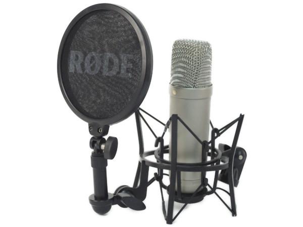 RODE NT1-A マイク ポップ シールド ショック マウント ボーカル セット コンデンサー 録音