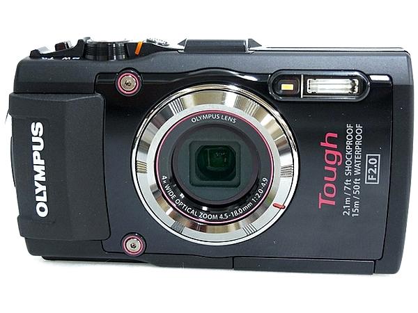 OLYMPUS オリンパス STYLUS TG-3 Tough デジタルカメラ コンデジ ブラック
