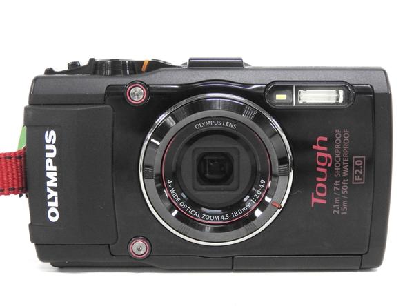 OLYMPUS オリンパス STYLUS TG-4 Tough デジタルカメラ コンデジ ブラック