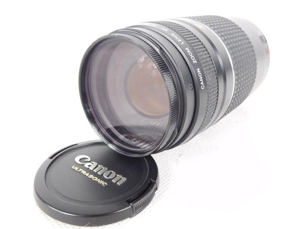 Canon キヤノン EF 75-300mm F4-5.6III USM カメラ レンズ ズーム