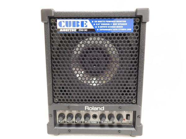 Roland ローランド  CUBE Monitor CM-30 アンプ 電池駆動